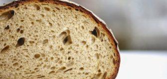 pagnotta di pane con occhiatura