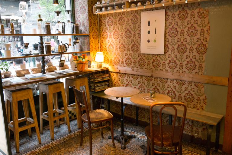 interno bar vintage
