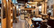 Il locale Costadoro Social Coffee Factory.