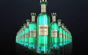 bottigliette di Italicus Rosolio di Bergamotto