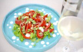 piatto dello chef stellato Francesco Oberto